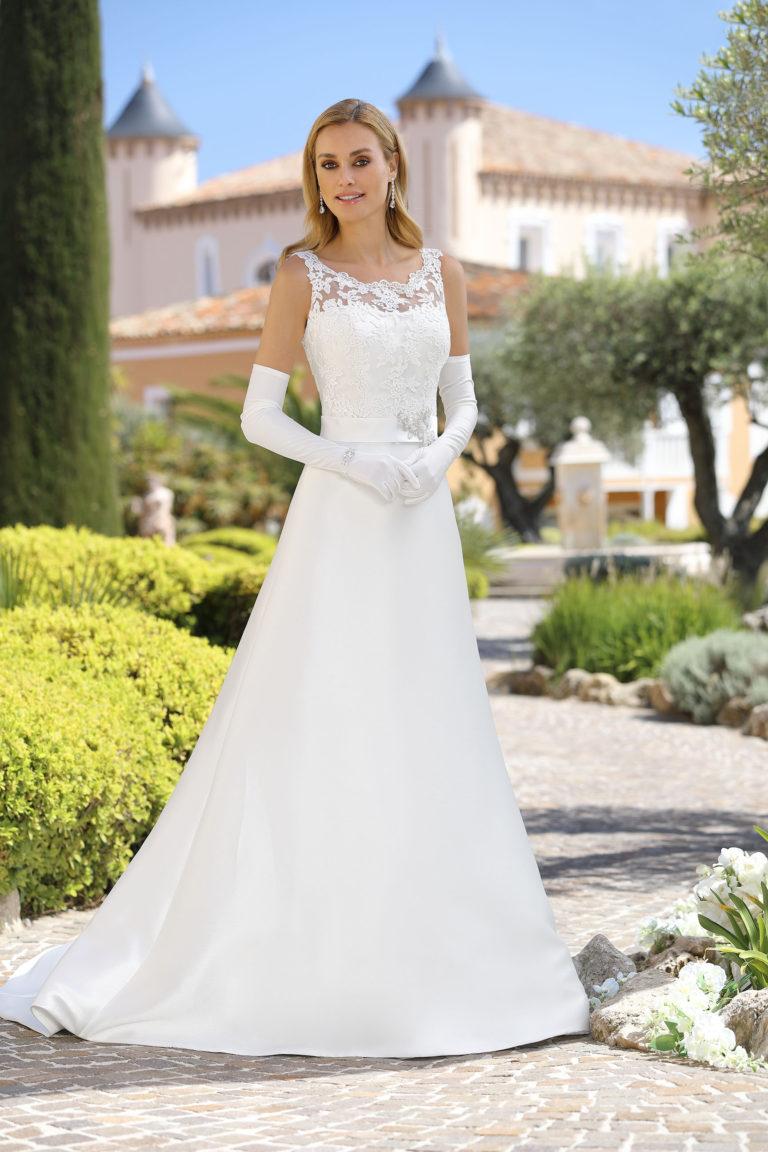 Hochzeitskleider Amberg, A-Linie