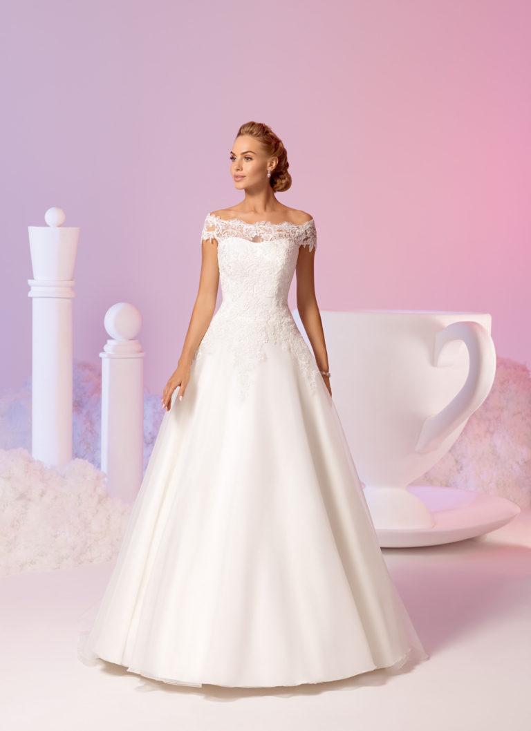 Brautkleider Amberg, A-Linie Brautkleid, Mode de Pol