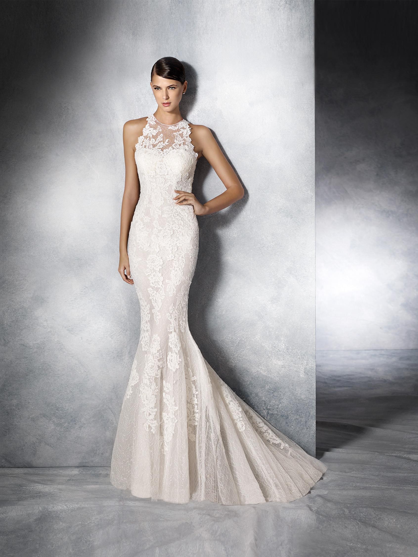 Amberg Hochzeitskleid Meerjungfrau