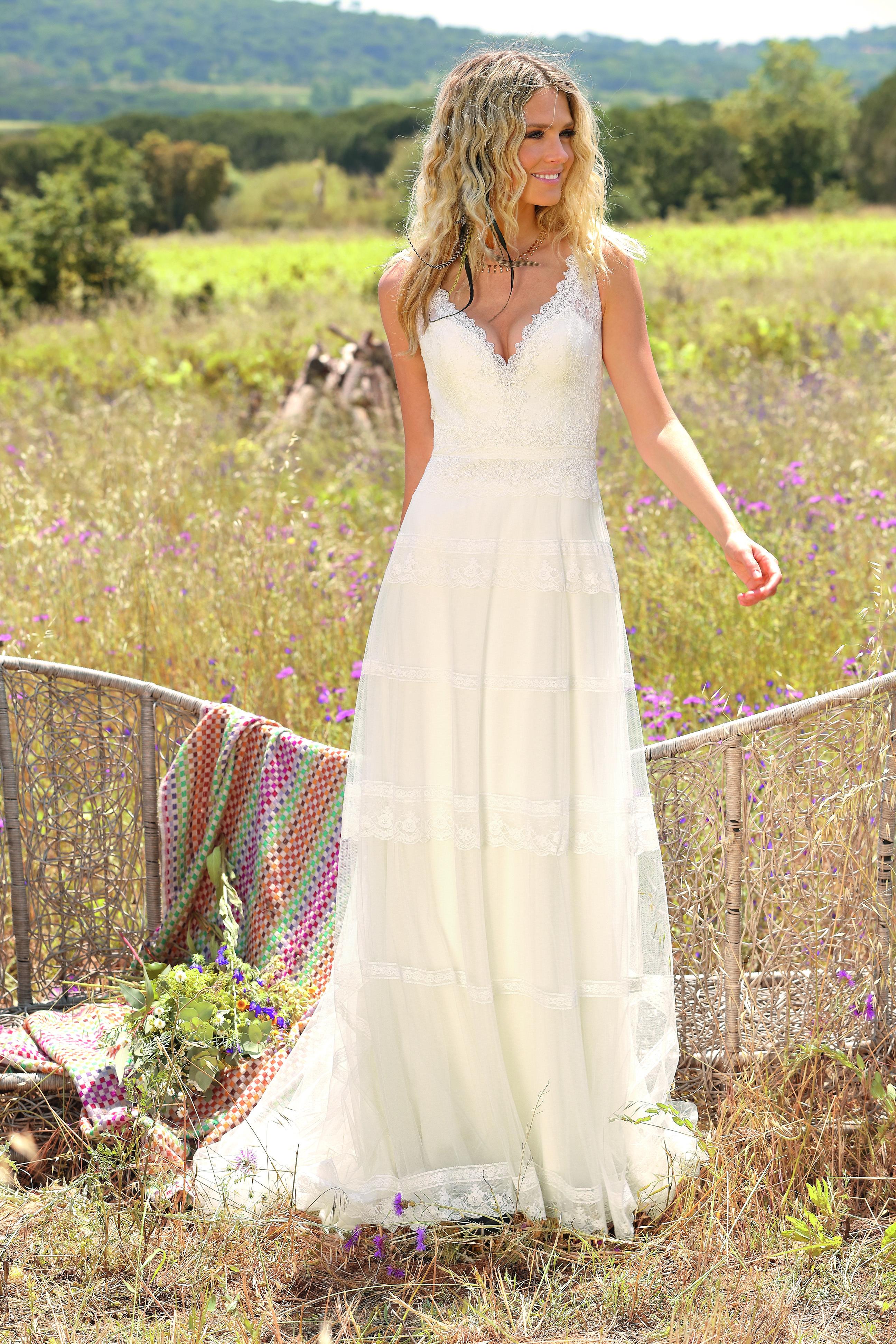Hochzeitskleid Brautkleid Brautkleider Bohemian Stil Amberg Kaufen