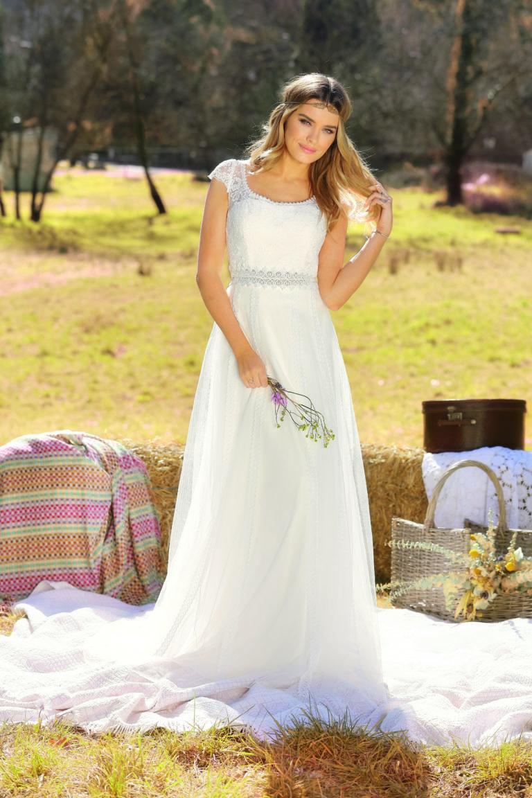 Hochzeitskleid Amberg Boho Stil