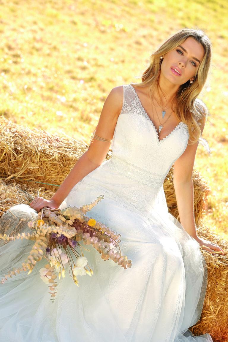 Brautkleider Amberg Bohemian Stil