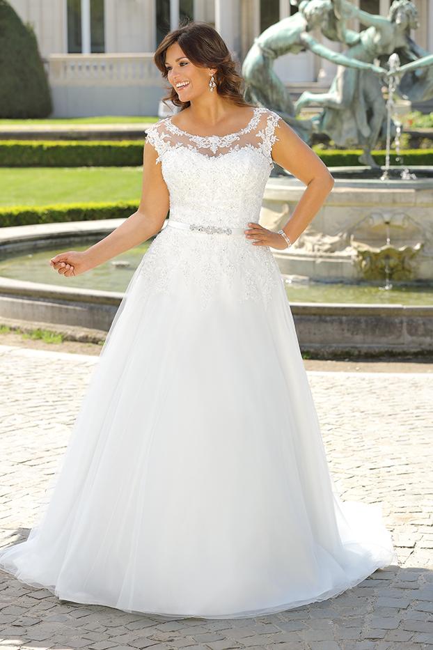 Brautkleid Übergröße