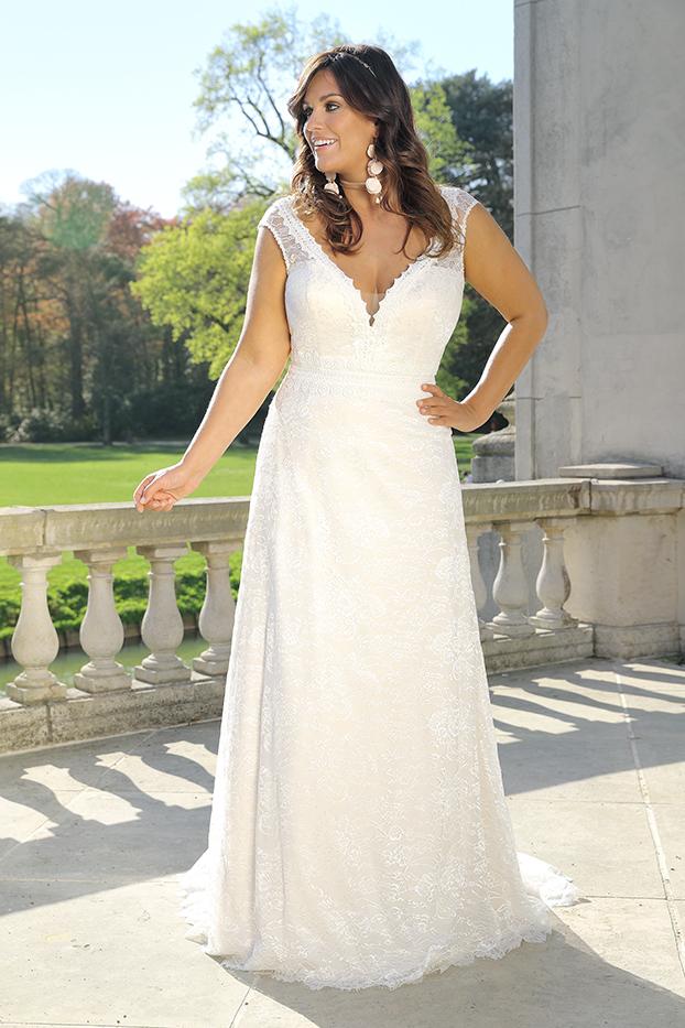Hochzeitskleid XL schmal